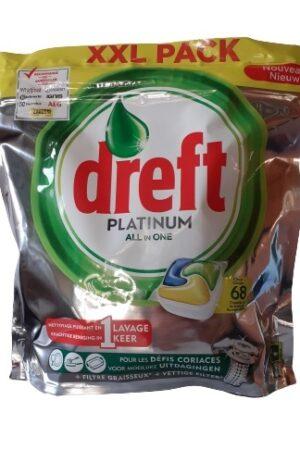 Dreft Platinum Lemon 68 caps