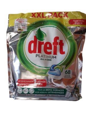 Dreft Platinum Green 68 caps