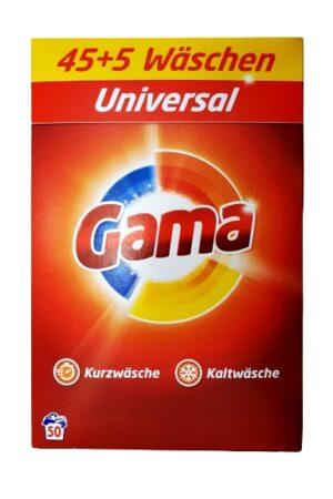 Gama universal proszek do prania 50 prań 3,25 kg