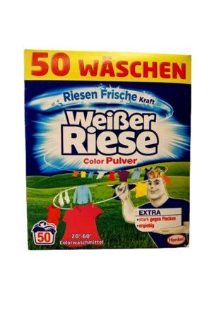 Weisser Riese Color Pulver 50 prań proszek do prania